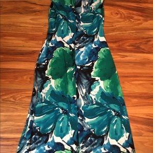 Connected Apparel maxi dress, NWT